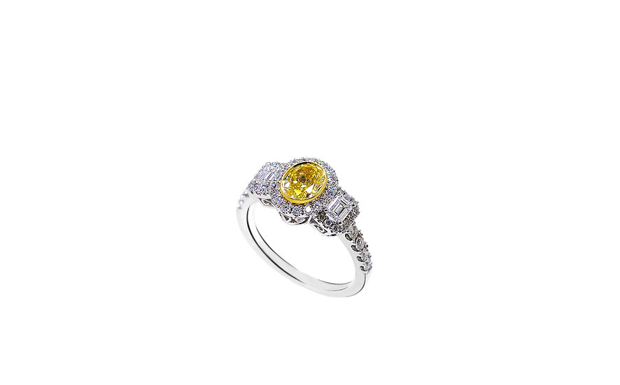 Tristone Ring - Regal Collection