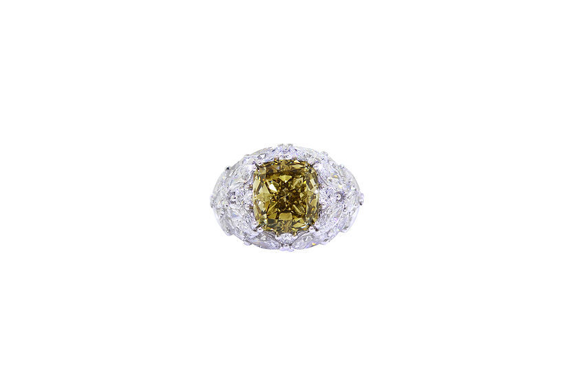 Eye of Olive Ring