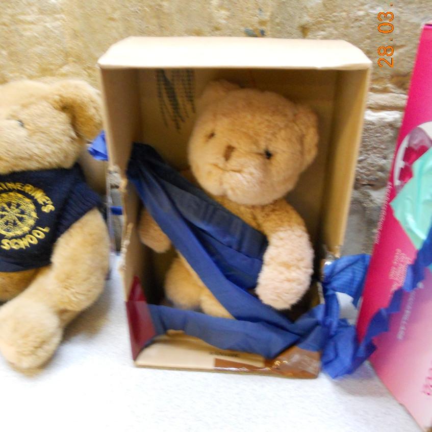 Keeping Teddy safe