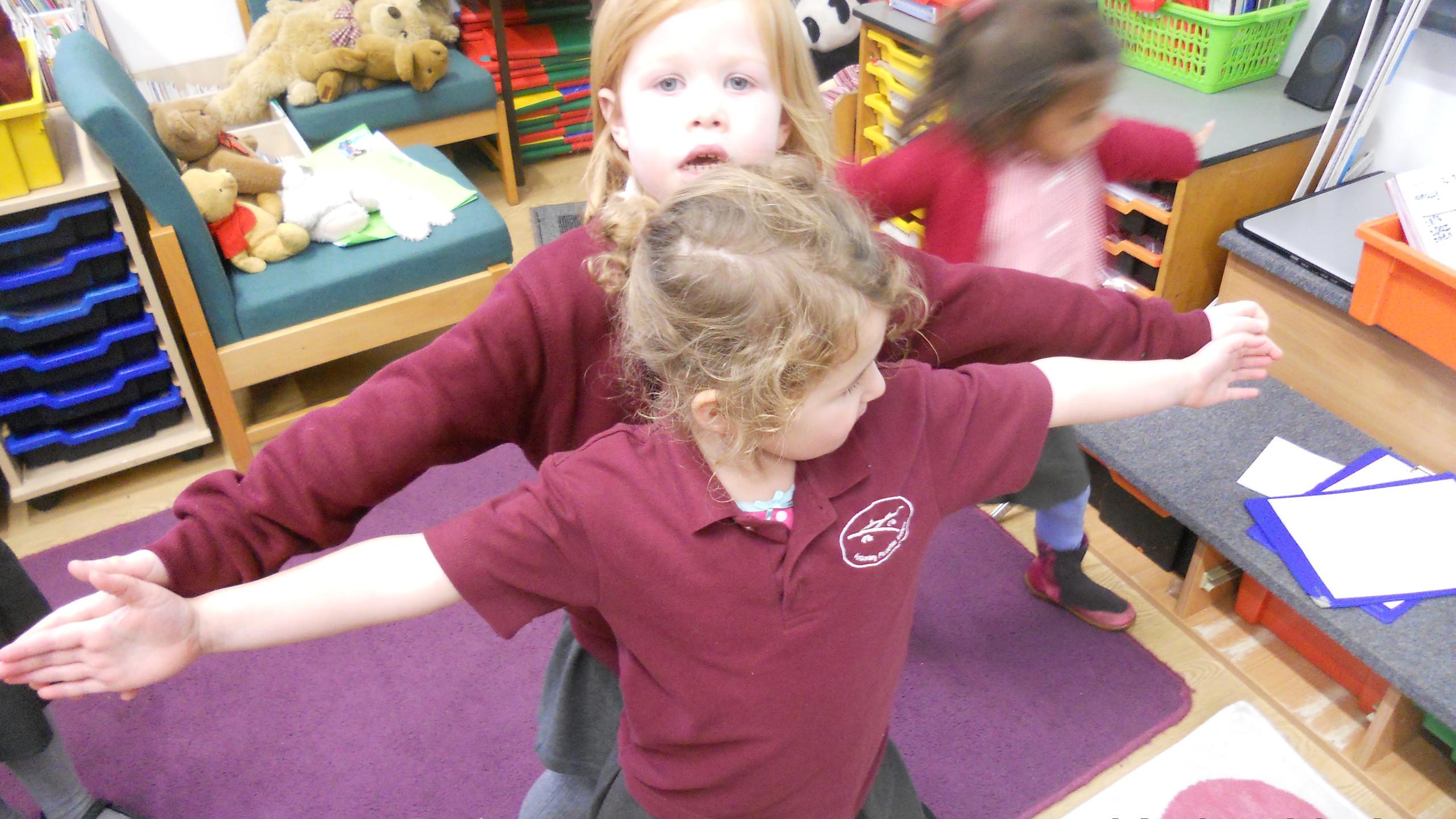 comparing arm spans
