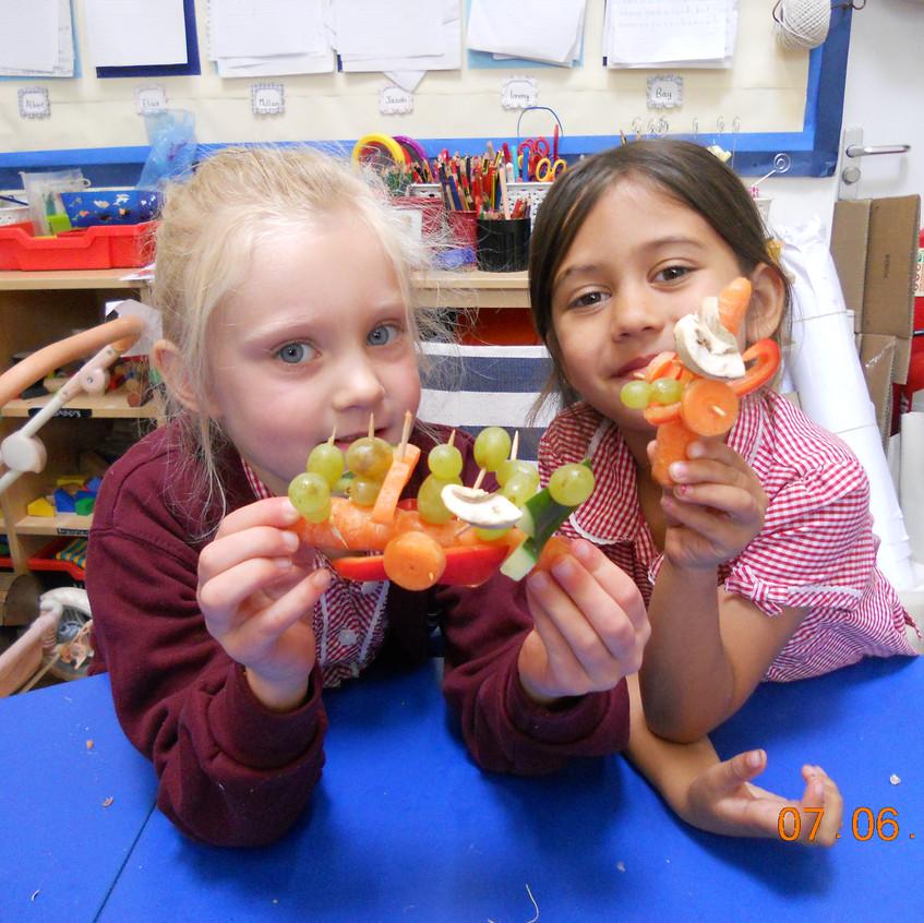 veg models and tasting