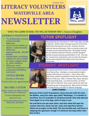 Newsletter - Summer 2020