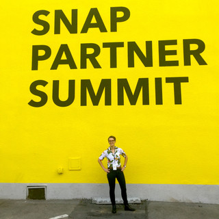 Me at the Snap Parter Summit 2019
