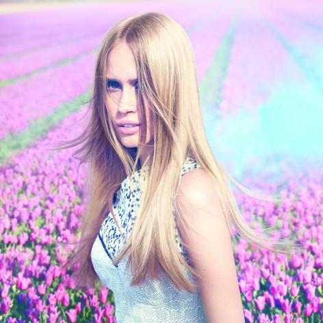 Langes Blond