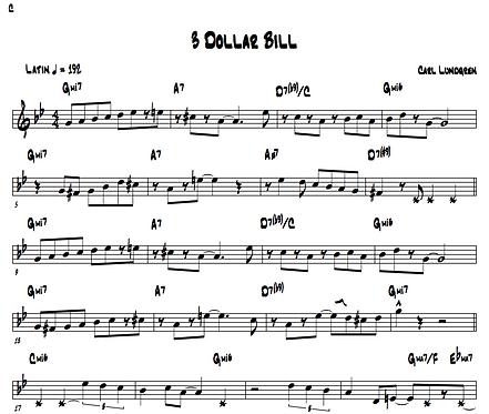 3 Dollar Bill (Leadsheet)