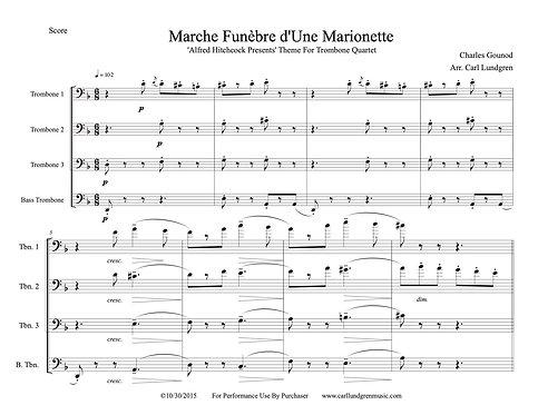 """""""Alfred Hitchcock Presents"""" Theme/Marche Funèbre d'une Marionnette – Gounod"""