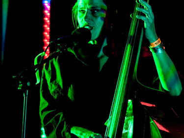 Katie at Bare Fest, Ireland