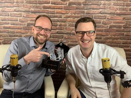Podcast Simbeck & Herschmann: Wirtschaft, Windkraft & Ausbildungs-Campus