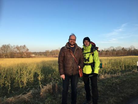 Wandern für die Natur: Herschmann trifft Roßmann