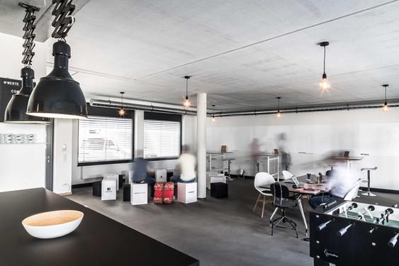 100 m2 Workshop-Space