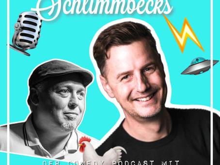 Hühner, Star Trek & Energie - zu Gast bei Florian Simbecks Comedy-Podcast