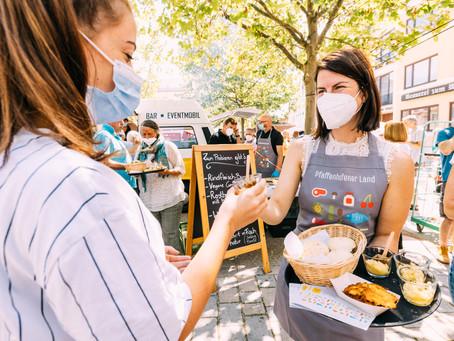 Mit Video und Fotogalerie: Naschmarkt auf dem Hauptplatz
