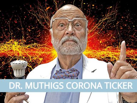 Wenn, dann bitte am Sonntag! | Dr. Muthigs Corona-Ticker| #13