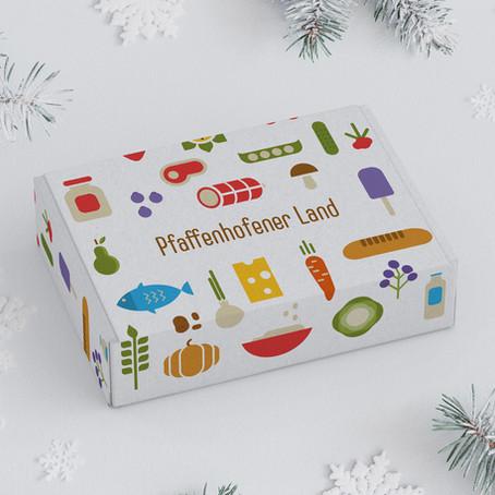 Weihnachten: Gutscheine und Schmankerlboxen von Pfaffenhofener Land