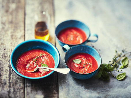 Regionale Tomatensuppe
