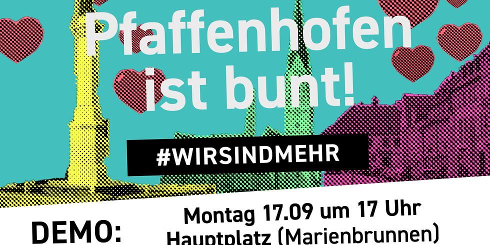 """Demo: """"Pfaffenhofen ist bunt"""""""