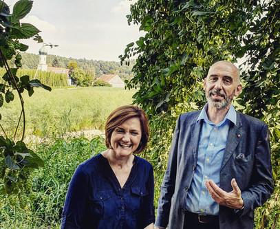 Simone Lange & Alexander Ahrens im Hopfenland