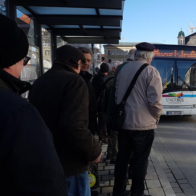 Halbstundentakt für Stadt- und Rufbus im gesamten Gemeindegebiet