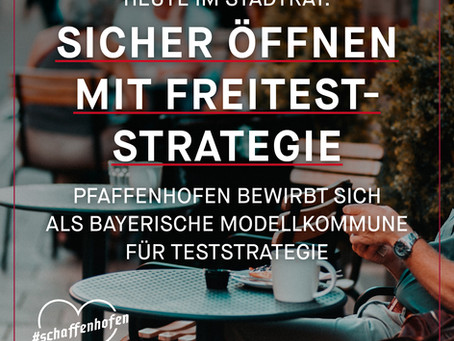 Sicher öffnen mit Freitest-Strategie