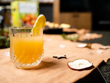 MAGDA MACHT´S #4: Weihnachtsgetränke mit Trinkessigen, Ingwer, Gin und Apfelsaft