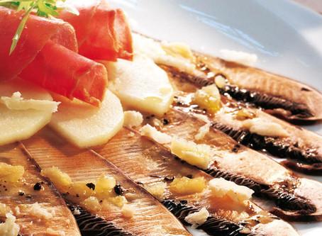 Kochen mit Hallertauer Pilzen: Paraplue Carpaccio