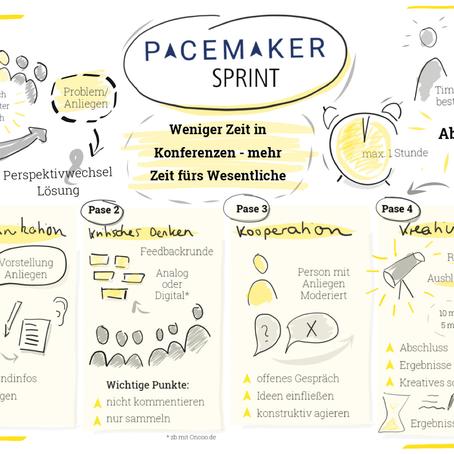 Weniger Zeit in Konferenzen – Mehr Zeit für das Wichtige: Der Pacemaker Sprint
