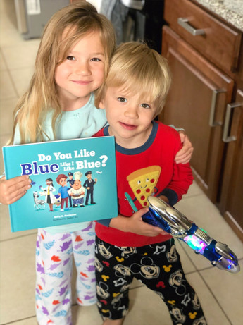 Two of Our Newest Readers!