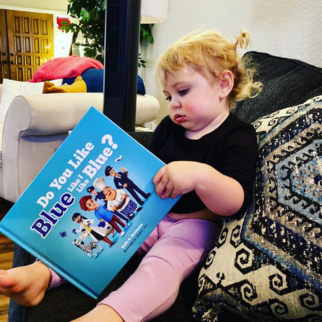 Reading at age 18 months!
