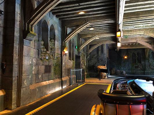 Hagrid's Magical Creature Motorbike Adventure Color Boards