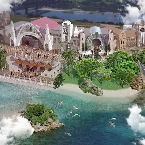 Coney Island to Dinotopia Transition Area