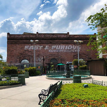 Fast & Furious Supercharged Facade
