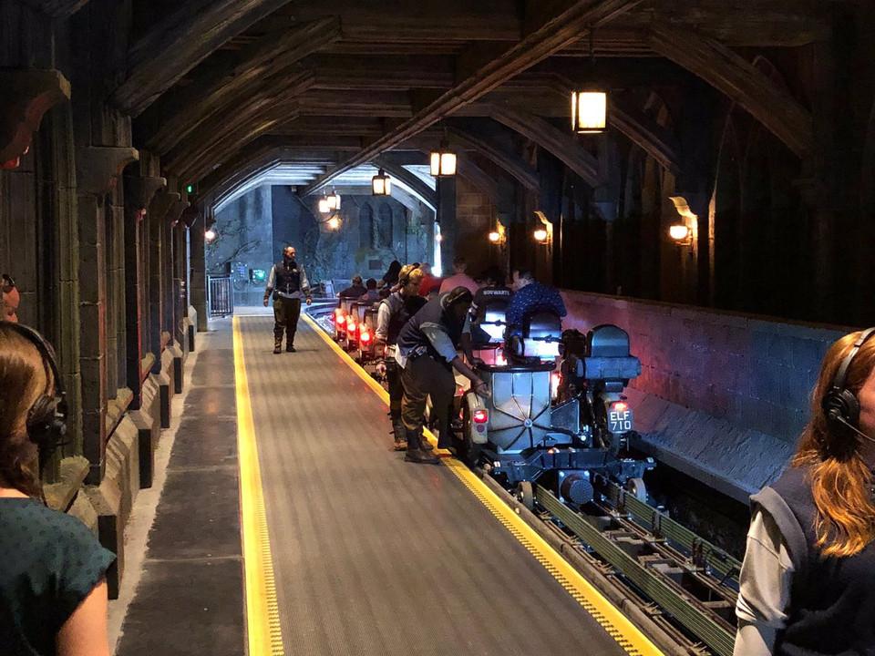 Hagrid's Magical Creature Motorbike Adventure