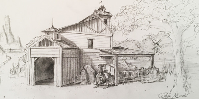 Frontierland Concpet Exterior