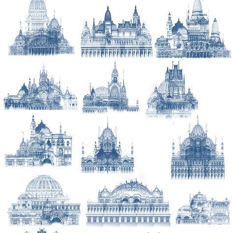 Beaux-Arts Architecutre Thumbnail Concepts