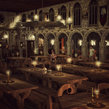 Harry Potter Themed Restaurant