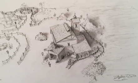 Frontierland Concept Aerial View