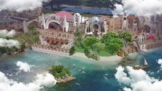 Coney Island to Dinotopia Transitional Area
