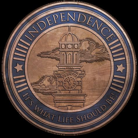 Independence Community Medallion