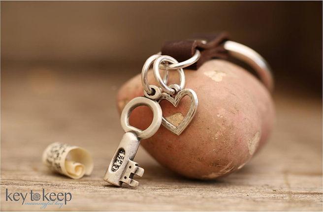מחזיק מפתחות עם ברכה אישית. דגם 1010