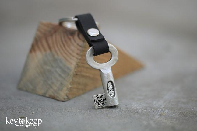 מתנה לגיוס- מחזיק מפתחות עם ברכת הדרך