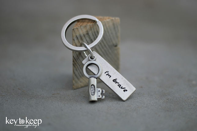 מפתח עם ברכה - I'm brave