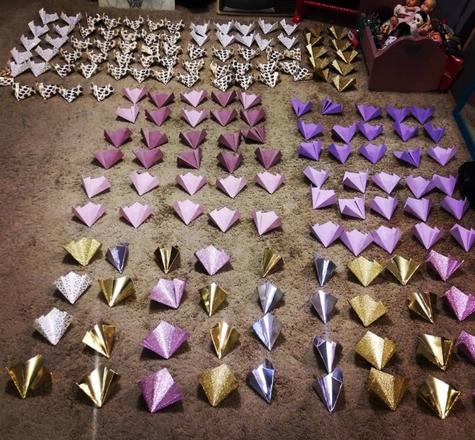 Hundreds of Kusudama Petals