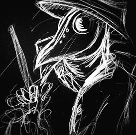 """""""My Muse"""" (Plague Doctor Costume Design)"""