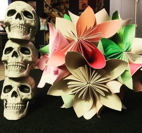 Origami Kusudama Flower Kissing Ball