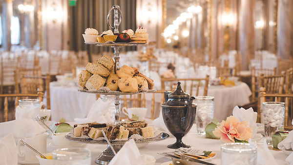 A full elegant tea service to take you back to a simple time.  Costumes are encouraged but not required.  Dress in any era for this magical party.