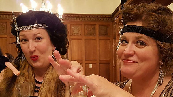 Go back in time for the Historical Romance Retreat Speakeasy Club... you'll need the password to get in and dance the night away