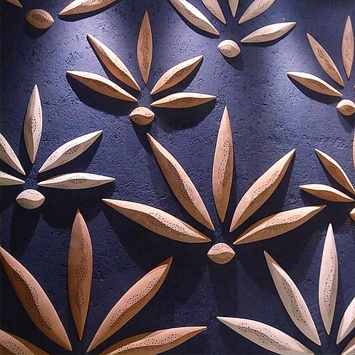 ceramic wall installation