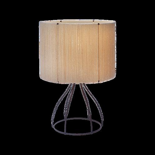 natural fiber table lamp