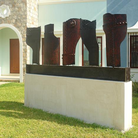 Esculturas de hierro
