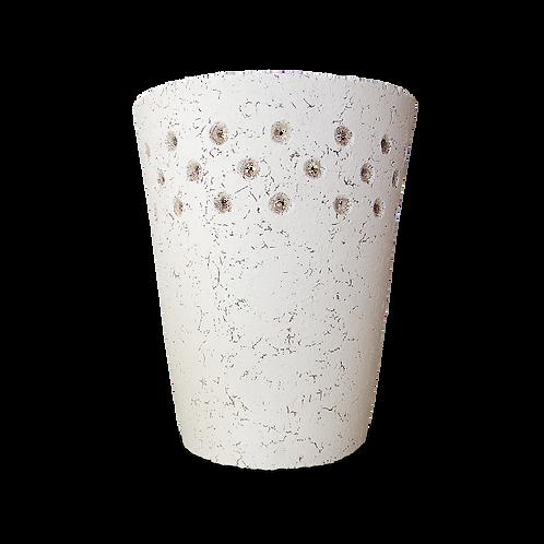 arbotante blanco de cerámica